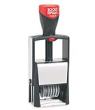 "Cosco Classic Line 2006/P 6 Band Size #1-1/2 (14pt,5/32"") Self-Inking Number Stamp with Die Plate"