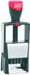 "Cosco Classic Line 2015 Size #1-1/2 (14pt,5/32"") Self-Inking Date Stamp"