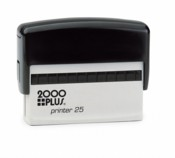 Cosco Printer Line Printer P25  5/8in. x 3in. Self-Inking Stamp