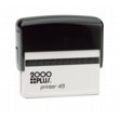 Cosco Printer Line Printer P45  1in. x 3-1/4in. Self-Inking Stamp