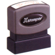 Xstamper Pre-Inked One-Color Stock Title Stamp