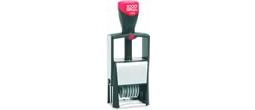 Cosco Classic Line Self-Inking Number Stamps