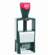 Cosco Classic Line Self-Inking Number Stamps with Die-Plate